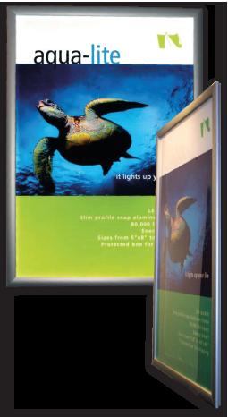 Aqua-lite LED backlit